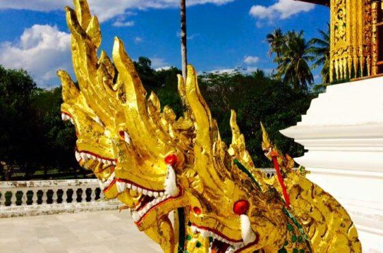 Monks, Wats, Shopping, Eating and Sweating in Luang Prabang