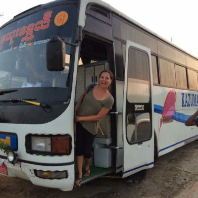 Bus in Myanmar