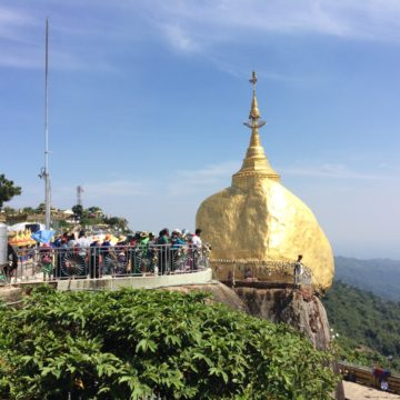 Visiting Mount Kyaikhtiyo and the Sacred Golden Rock
